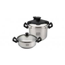 Izzy Multi Set 8Lt+4Lt, Cookware