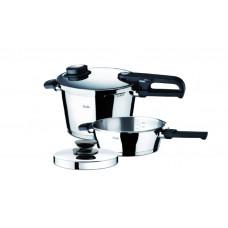 FISSLER SET QUATTRO 8 + 4LT.CORONAL (62070111) Σετ μαγειρικών σκευών