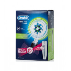 Oral-B Pro 750 CrossAction Special Edition Black + Travel Case
