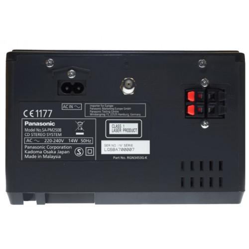 PANASONIC SC-PM250EG-S Micro-Mini Hifi