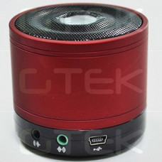 GTEK GT-D105 Red Bluetooth Ηχεία