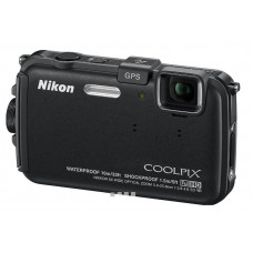 NIKON COOLPIX AW100 Compact Camera Black