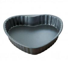 Fissler Φόρμα Κέικ με Αντικολλητική Επίστρωση Καρδιά Στρογγυλή 25cm