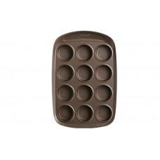 Pyrex Φόρμα Cupcakes/Muffins με Αντικολλητική Επίστρωση 12 Θέσεων Ορθογώνια x 304012