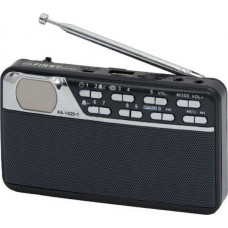 FIRST FA-1925 Ραδιοφωνα Black