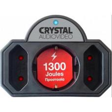 Crystal Audio Αντάπτορας Ασφαλείας 3 Θέσεων CP21-1300-70
