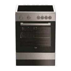 BEKO FSM 67010 GX ΕΛ.ΚΕΡΑΜΙΚΗ Ηλεκτρικές κουζίνες Inox