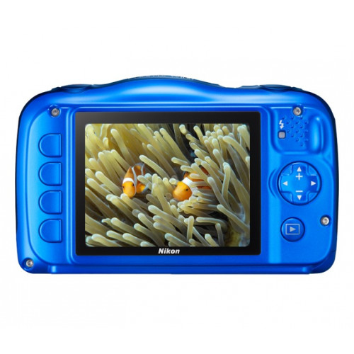 NIKON W100 BackPack Kit Blue Compact Camera