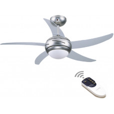 GRUPPE L44001 ΜΕ ΦΩΣ & ΤΗΛΕΧ/ΡΙΟ Ανεμιστήρες οροφής Διάφανο