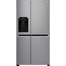 LG Ψυγείο Ντουλάπα NoFrost Inox A+ GSJ470DIDV