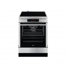 AEG Κουζίνα 73lt με Εστίες Κεραμικές CCB6671APM