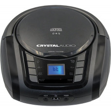 CRYSTAL AUDIO BMBUB3 Φορητά Ράδιο-Cd
