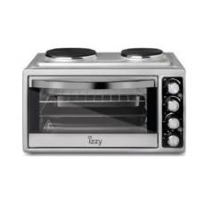 IZZY IZ-8003 38L 2 ΕΣΤΙΕΣ (223444) Φουρνάκια, Κουζινάκια Inox
