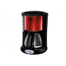 Moulinex Subito FG362D Προγραμματιζόμενη Καφετιέρα Φίλτρου 1000W Red/Black