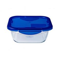 Pyrex Φαγητοδοχείο Cook&Go 800ml Μπλε