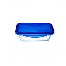 Pyrex Φαγητοδοχείο Cook&Go 3300ml Μπλε