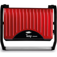 IZZY Panini Spicy Red IZ-2008 (223700) Σαντουιτσιέρες/Τοστιέρες