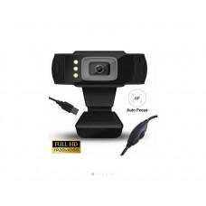 LAMTECH LAM021509 FULL HD USB WEB CAMERA WITH LED 1080P