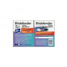BITDEFENDER TOTAL SECURITY 1DEV 2Y CARD Προστασία Υπολογιστή