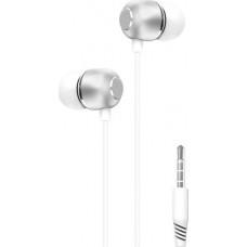 XO EP26 In-ear Handsfree Μονό με Βύσμα 3.5mm Λευκό