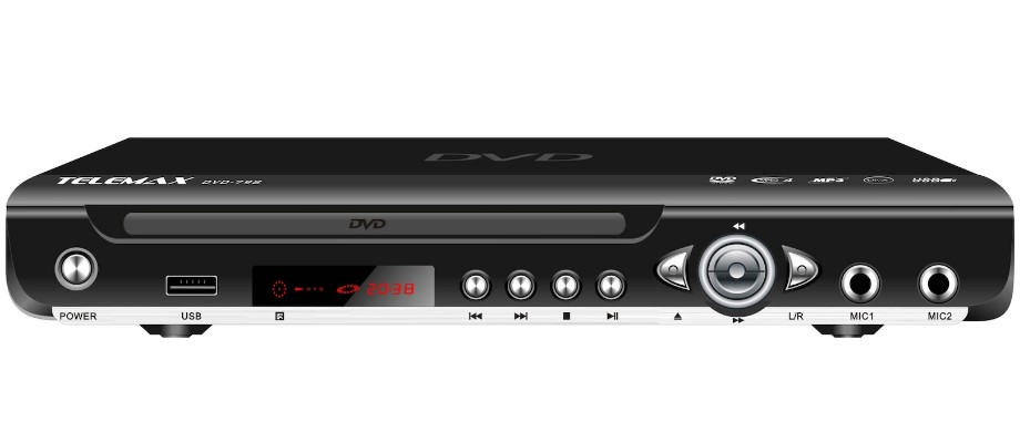 TELEMAX DVD-798 HDMI Dvd Player